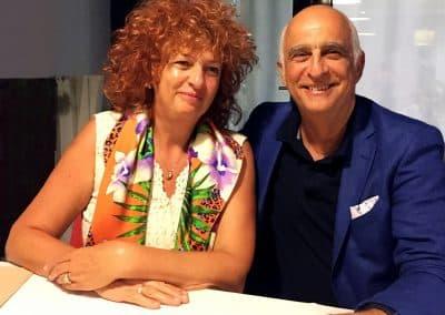 д-р Онорато и Мариела Гачевска